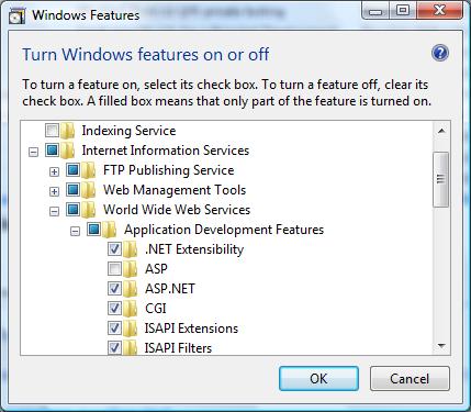 PHP Doku:: Microsoft IIS 7 0 and later - install windows iis7 html